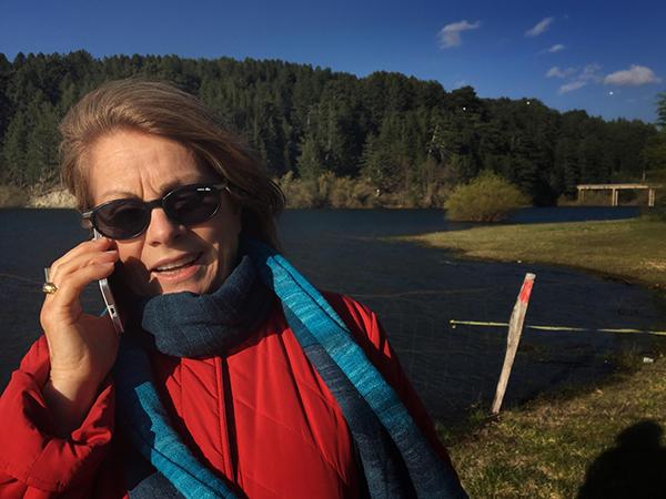 Sila-mamma-ritratto-lago Cecita